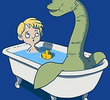 There's something in my bath!! by J.C. Maziu