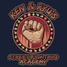 Ken and Ryu's Martial Arts Academy  by odysseyroc