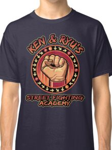 Ken and Ryu's Martial Arts Academy  Classic T-Shirt