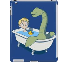 There's something in my bath!! iPad Case/Skin