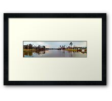LAKE VIEW, HIGH POINT, NC, USA Framed Print