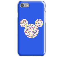 Mouse Abstract Patterned Silhouette iPhone Case/Skin