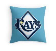 Tampa Bay Rays Throw Pillow