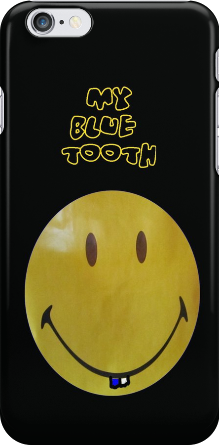 MY BLUE TOOTH - iPHONE COVER SOLD by Colleen2012
