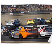 Qld Raceway 2012 (Dunlop Series) Poster