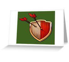 Shield Greeting Card