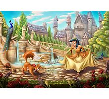 The Princess and the Fox Photographic Print