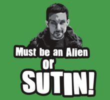 Alien of Sutin by StevePaulMyers