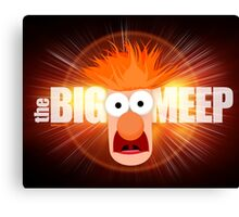 The Big Meep Canvas Print