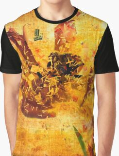 Shattered Golden Dreams Graphic T-Shirt