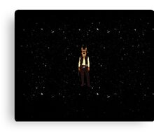 Han Solo Star Wars Dog Canvas Print