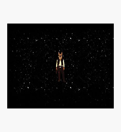 Han Solo Star Wars Dog Photographic Print