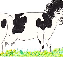 Cow by Dinah Stubbs