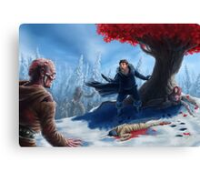Sam the Slayer Canvas Print