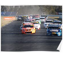 Qld Raceway 2012 Angry Pack Poster