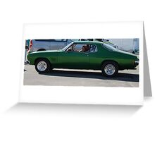 Nice Cruiser Greeting Card