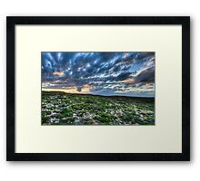 Sunset Kangaroo Island South Coast Framed Print
