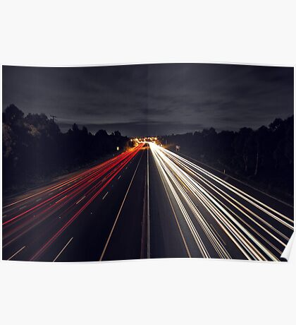 Eastern Freeway Trails Poster