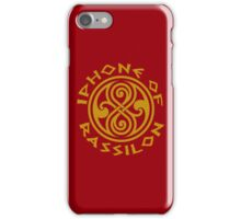 Iphone of Rassilon -red iPhone Case/Skin