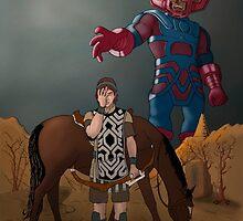 Shadow of the... Galactus?? by J.C. Maziu