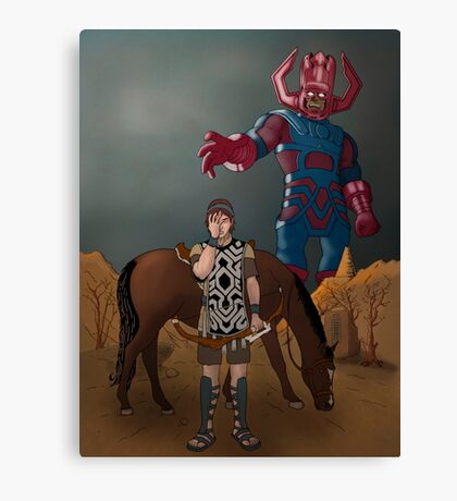 Shadow of the... Galactus?? Canvas Print