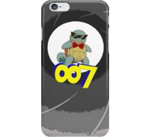 squirtle 007 iPhone Case/Skin