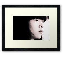 China Girl Framed Print