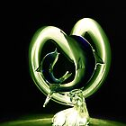 LIGHT PAINTING OF LOVE by PALLABI ROY