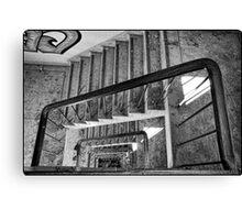 Derelict Staircase Canvas Print