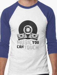 Music You Can Touch Men's Baseball ¾ T-Shirt