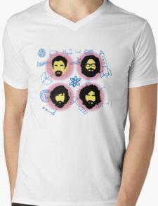 The Big Beards Theory Mens V-Neck T-Shirt