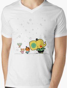 Bubble Animals Mens V-Neck T-Shirt