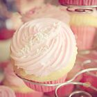 Pink Ribbon Day Cup Cake by Melissa Dickson