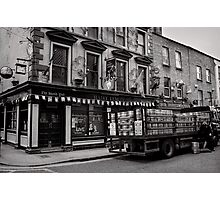 Precious cargo for a pub - Dublin Photographic Print