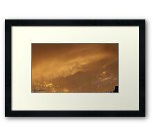 July 2012 Sunset 3 Framed Print