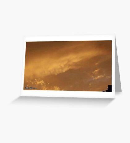 July 2012 Sunset 3 Greeting Card