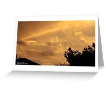 July 2012 Sunset 5 Greeting Card