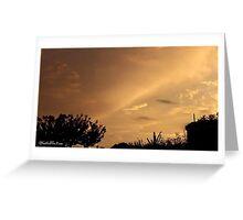July 2012 Sunset 7 Greeting Card