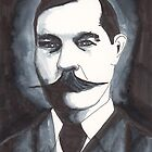 Arthur Conan Doyle by Dinah Stubbs