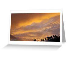 July 2012 Sunset 11 Greeting Card