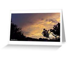 July 2012 Sunset 13 Greeting Card