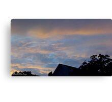 July 2012 Sunset 15 Canvas Print