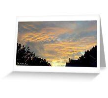 July 2012 Sunset 18 Greeting Card