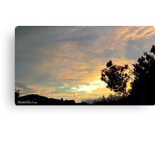 July 2012 Sunset 19 Canvas Print