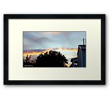 July 2012 Sunset 20 Framed Print