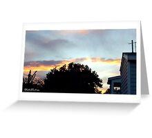 July 2012 Sunset 20 Greeting Card