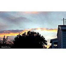July 2012 Sunset 20 Photographic Print
