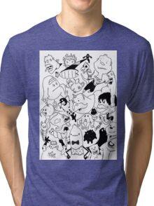 George Clarke - Characters Jul15 Tri-blend T-Shirt