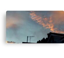 July 2012 Sunset 21 Canvas Print