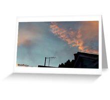 July 2012 Sunset 21 Greeting Card